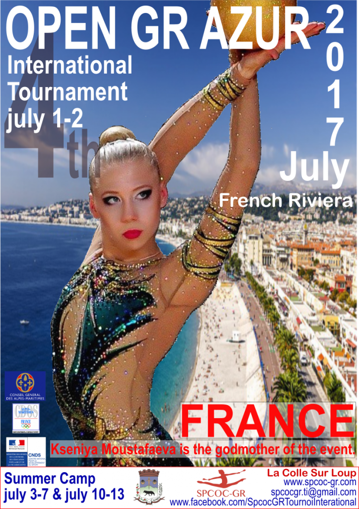 international RG tournament Azur 2017
